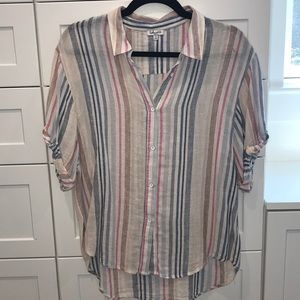 Amazing and Popular Splendid Linen Shirt sz Small